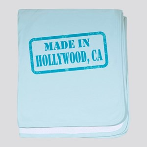 MADE IN HOLLYWOOD, CA baby blanket