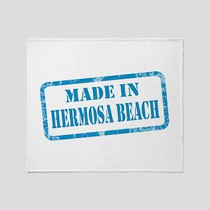MADE IN HERMOSA BEACH, CA Throw Blanket