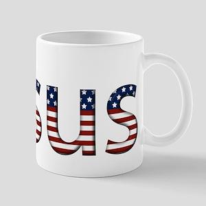 Jesus Stars and Stripes Mug