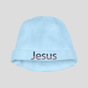 Jesus Stars and Stripes baby hat