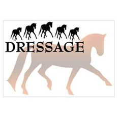 -dressage Canvas Art