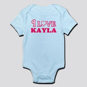 I Love Kayla Body Suit