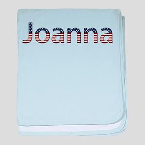 Joanna Stars and Stripes baby blanket
