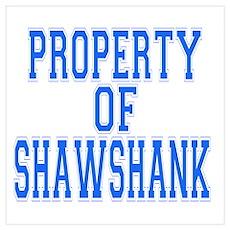Property of Shawshank Poster