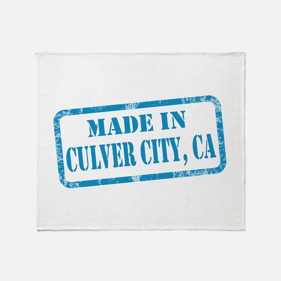 MADE IIN CULVER CITY, CA Throw Blanket