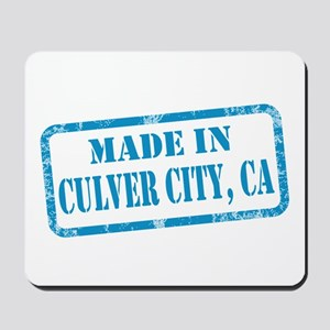 MADE IIN CULVER CITY, CA Mousepad