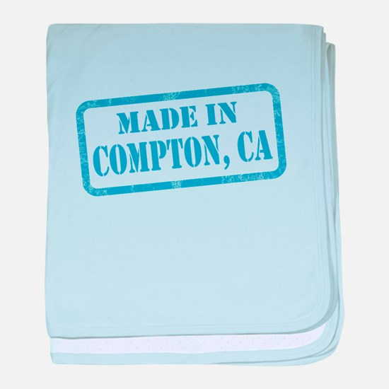 MADE IN COMPTON, CA baby blanket