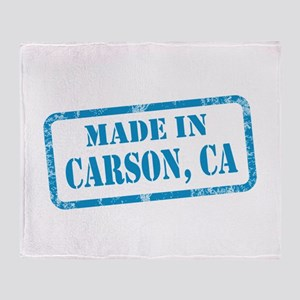 MADE IN CARSON, CA Throw Blanket