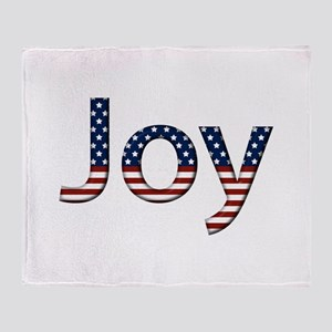 Joy Stars and Stripes Throw Blanket