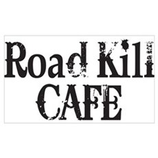 Road Kill Cafe Framed Print