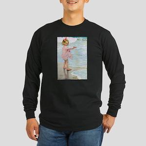 Seashore Long Sleeve Dark T-Shirt