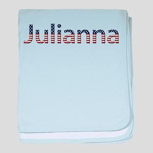 Julianna Stars and Stripes baby blanket