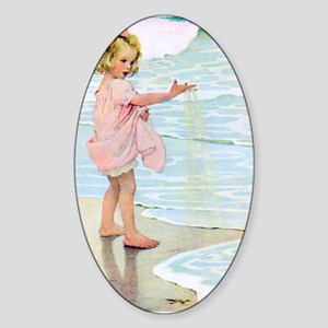 Seashore Sticker (Oval)