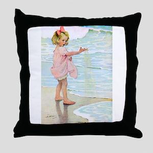 Seashore Throw Pillow