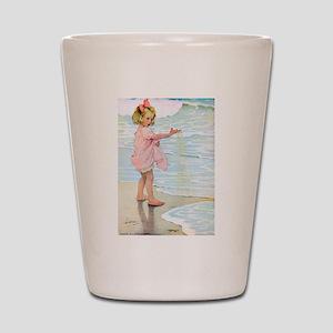 Seashore Shot Glass