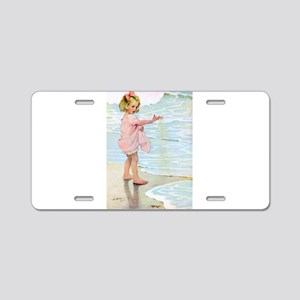 Seashore Aluminum License Plate
