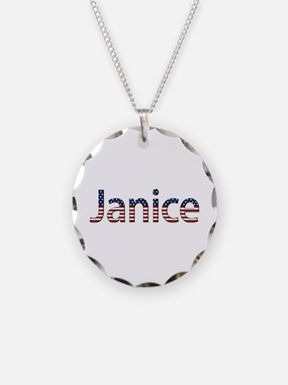 Janice Stars and Stripes Necklace