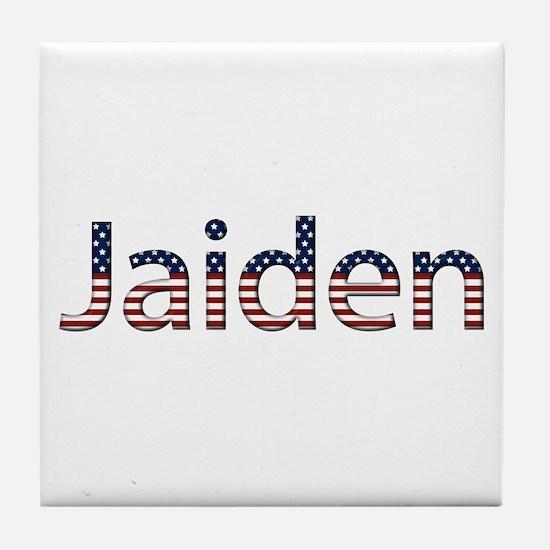 Jaiden Stars and Stripes Tile Coaster