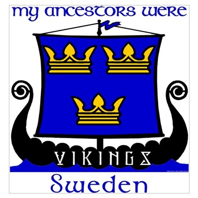 Royal Swedish Ancestors Poster