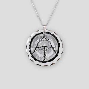 Appalachian Trail Necklace Circle Charm