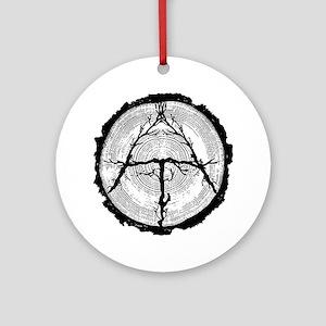Appalachian Trail Ornament (Round)
