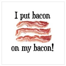 Bacon Lovers Poster