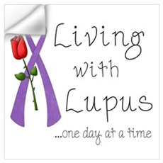 Living with Lupus One Day at a Time Pr Wall Decal