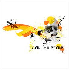 Kayak Capers Poster