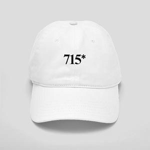 715* Home Run Record Protest Cap