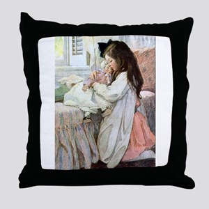 My Doll Baby Throw Pillow