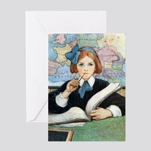 School Days Greeting Card