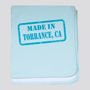 MADE IN TORRANCE, CA baby blanket