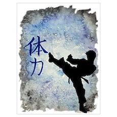 Power Kick Poster