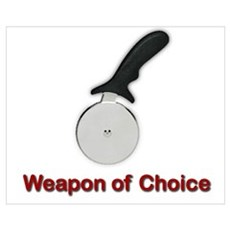 Weapon of Choice Canvas Art