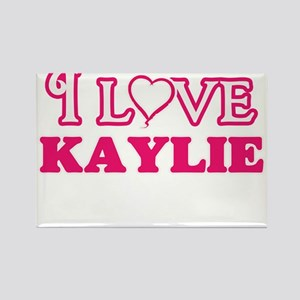 I Love Kaylie Magnets