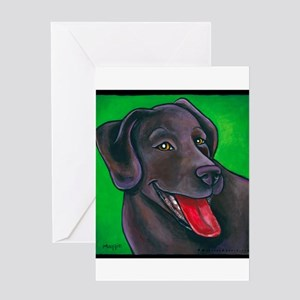 "Chocolate Lab ""Brownie"" Greeting Card"