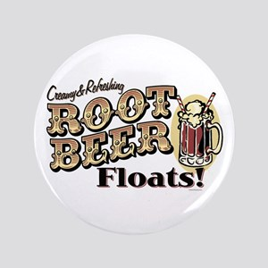 """Root Beer Floats 3.5"""" Button"""