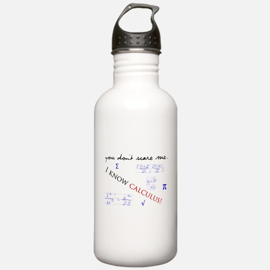 Calculus Water Bottle