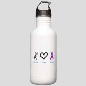 Peace Love Hope Stainless Water Bottle 1.0L