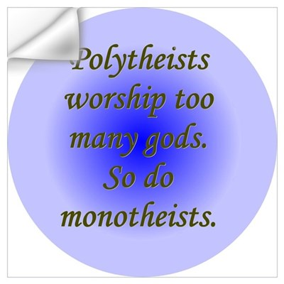 """Polytheists"" Wall Decal"