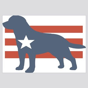 Patriotic Labrador Retriever