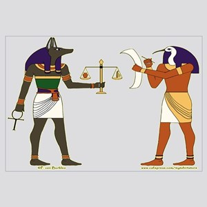 Anubis and Thoth Art