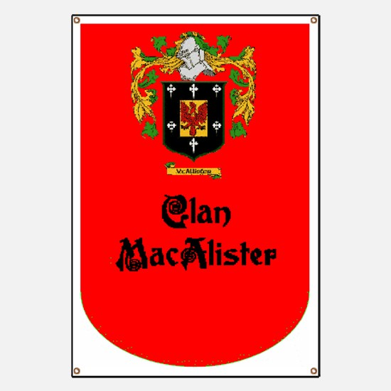 Clan MacAlister Banner