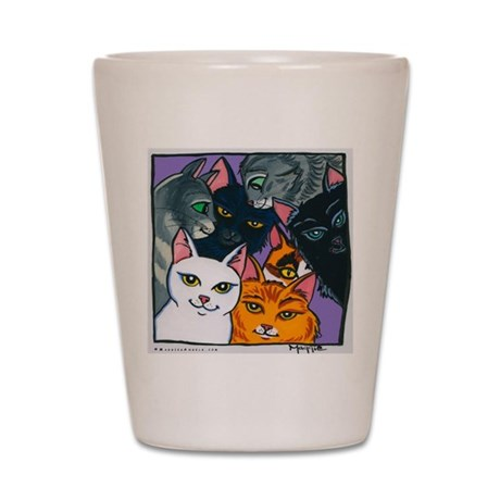 Kitty Cats Shot Glass