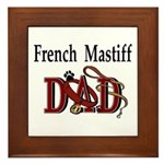 French Mastiff Framed Tile