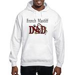 French Mastiff Hooded Sweatshirt