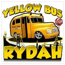 Yellow Bus Rydah Poster