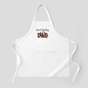 French Bulldog Dad BBQ Apron