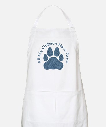 All My Children Have Paws 2 Apron