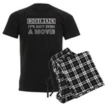 Relax: It's Not EVEN a Movie! Men's Dark Pajamas